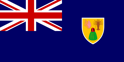 Flag of Turks & Caicos Islands